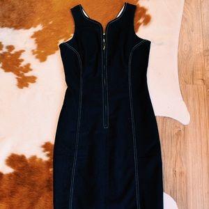 Denim Venus zipper dress